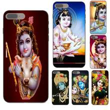 For Xiaomi Note 3 4 Mi3 Mi4 Mi4C Mi4i Mi5 Mi 5S 5X 6 6X 8 SE A1 Max Mix 2 TPU Print Capa Indian God Lord Krishna(China)
