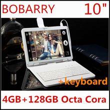 10 дюймов Octa Ядро 3 Г Таблетки 4 ГБ RAM 128 ГБ ROM 1280*800 Две Камеры Android 5.1 таблетки 10.1 дюймов Бесплатная Доставка