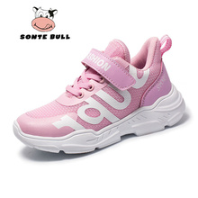 Summer New Fashion Running Shoes for Girls Mesh Breathable Casual Brand