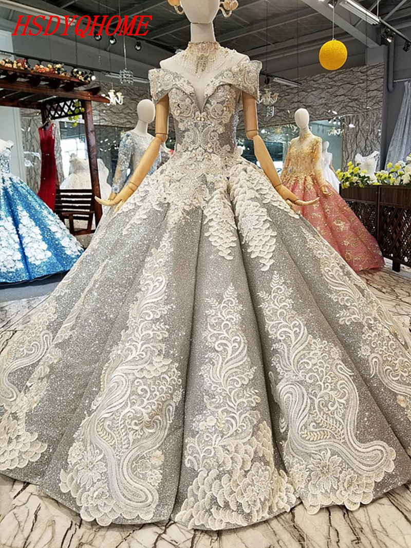 HSDYQHOME Amazing   Evening     dresses   2018 Luxury Prom party   Dresses   Ball gown Vestidos   Evening   party gown
