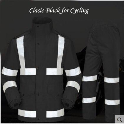 Hooded Raincoat Women Men Rain Coat Motorcycle pants fishing impermeables para lluvia mujer capa de chuva para motoqueiro gear s