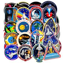 94Pcs PVC Waterproof Sticker Toys Aerospace Theme Decal for Phone Laptop Luggage Bicycle Guitar Moto Adhesive Gift Stickers