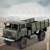 1:16 Military Truck Toy Remote Control Car Four Wheel Drive Climbing Remote Control Off Road Vehicle RC Toy Car Kids Birth Gift