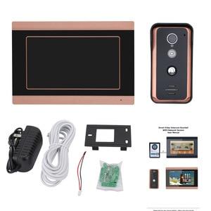 Image 2 - MAOTEWANG 7 นิ้ว Wifi Wireless Video Doorbell Intercom Entry ระบบ HD 1000TVL แบบมีสายภาพกล้องบันทึก