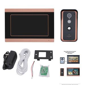 Image 2 - MAOTEWANG 7inch Wifi Wireless  Video Doorbell Intercom Entry System with  HD 1000TVL Wired Camera picture records