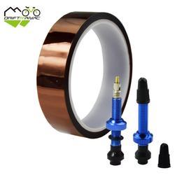 40mm MTB rower szosowy bez rury bezdętkowe Presta zawory aluminium 1 para z Tubeless Tape 24/28/ 30mm do szerokości opony rowerowe w Zawory od Sport i rozrywka na