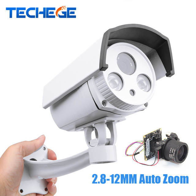 Techege 1080P Outdoor Bullet IP Camera HD 2.0MP IP camera wide dynamic CMOS 2.8-12mm AUTO zoom lens Onvif P2P Waterproof