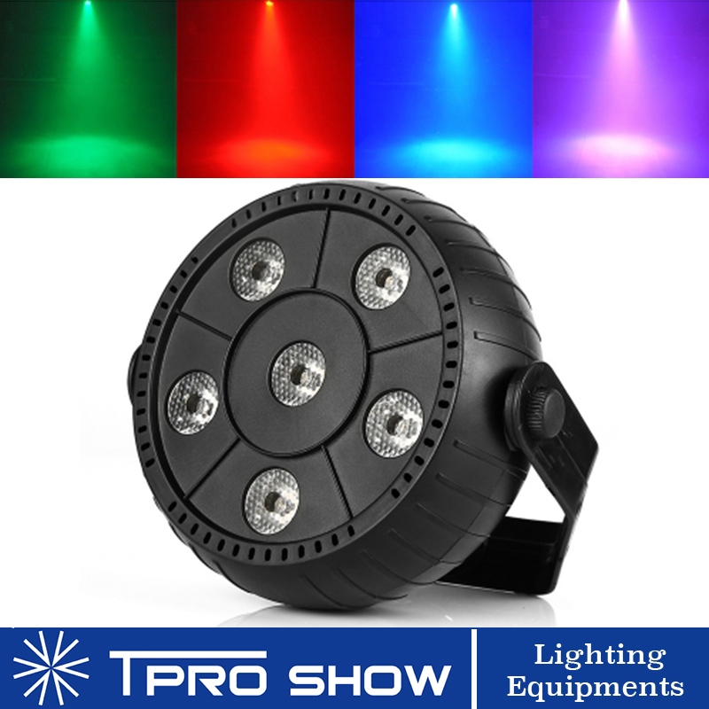 LED Par Sound Party Light RGB Stage Lighting Effect Mini Projector Auto Music Control Colors Change Small Home Party Disco DJ