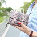 New pattern women's short design wallet fashion classic crocodile pattern purse female Wallets
