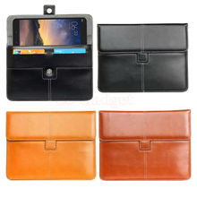 Luxury PU Leather Buckle Knot Case Briefcase for Xiaomi Mipad 2 Mi Pad 2 7.9 inch Tablet Portfolio Cover w/ Credit Cards Holder