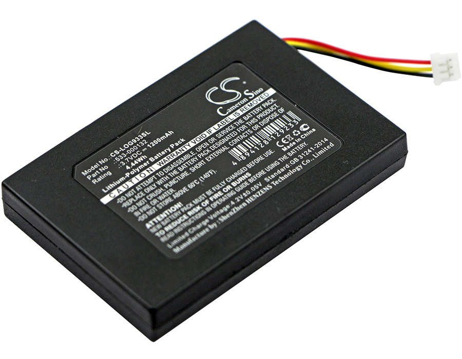 Expresivo Batería De 1200 Mah 533-000132 Para Logitech G533, G933 DesempeñO Confiable