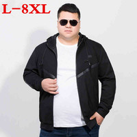 plus size 8XL 7XL 6XL Male Jacket Coat Men 2018 Spring Business Casual Clothes Summer Thin Windbreaker Mens Black Bomber Jackets