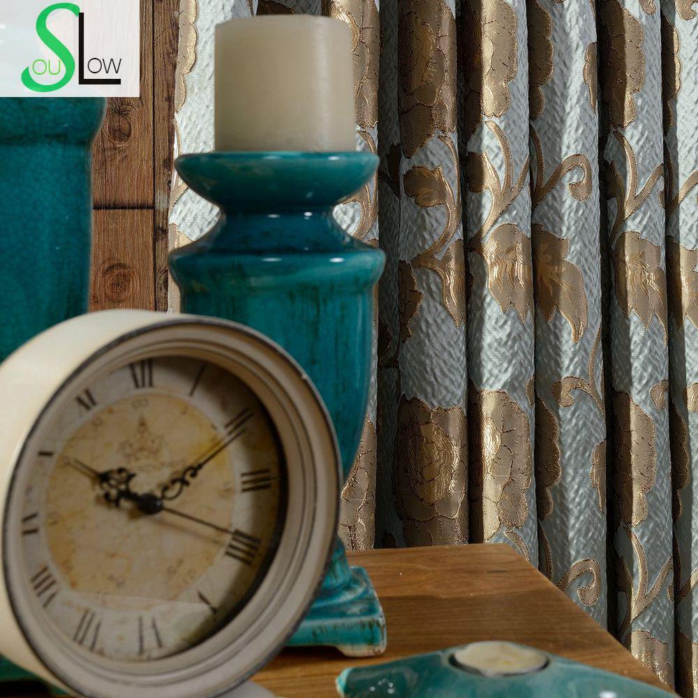 Online kopen wholesale gordijnstof blauw uit china gordijnstof ...