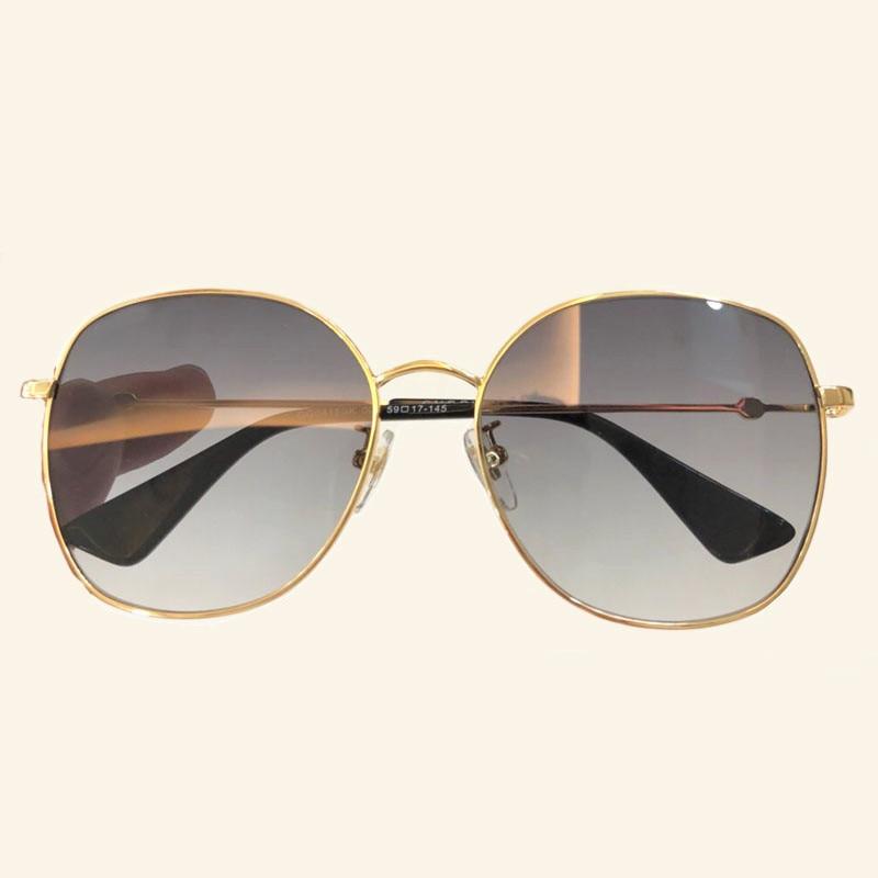 Objektiv 3 Frauen Mit Verpackung Uv400 no 2018 Schutz 2 1 Hohe Legierung Für Rahmen Runde No no Qualität Sonnenbrille Klassische Polarisierte 4 no Gläser YSqx61OS