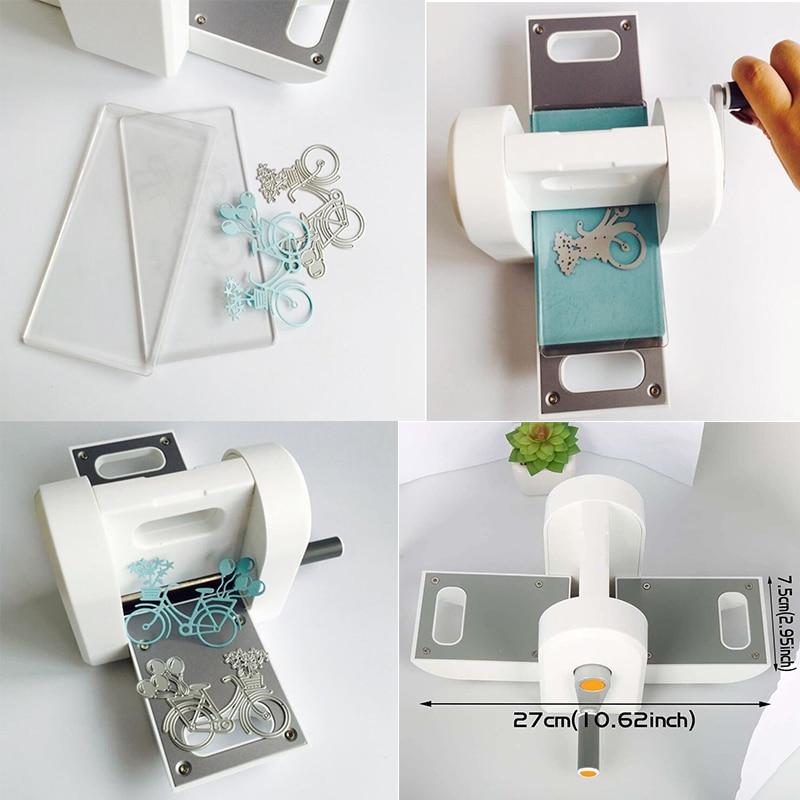Die Cutting Embossing Machine Scrapbooking Cutter Piece Die Cut Paper Cutter Die-Cut Machine Home DIY Embossing Dies Diy Tool