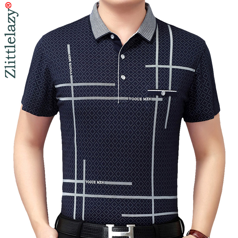Summer polo shirt men short sleeve polos shirts argyle slim fit mens pol clothes dress bodybuilding streetwear poloshirt 5078
