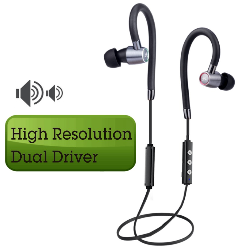 все цены на Avantree Hi-Fi Dual Driver Bluetooth In-ear Earbuds with Mic and Adjustable Ear Hook Wireless Noise-Isolating headphones - AS20