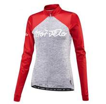 morvelo new Women Spring/summer Long Sleeve Bicycle Cycling Jersey Road Mountain bike Shirt Outdoor Sports Bicycle Clothing tops(China)