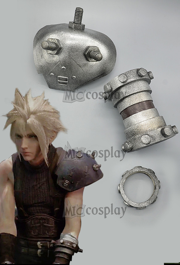 Final Fantasy VII Remake Cloud Strife Cosplay Armor Sets for Men