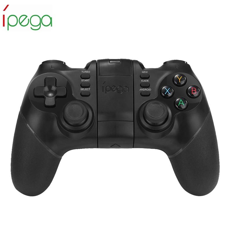 iPega PG - 9077 Joystick Wireless Handle Bluetooth 3.0 Gaming Controller Gamepad for Android/iOS/PC/TV Box/Smart TV/Smartphone