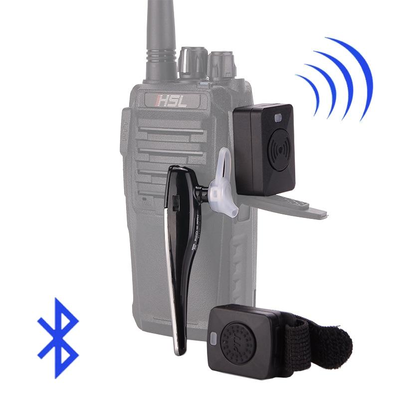 Talkie Walkie Mains Libres Bluetooth Casque K/M Type Écouteur à Deux Voies de Poche Radio Sans Fil Casque Pour Moto baofeng
