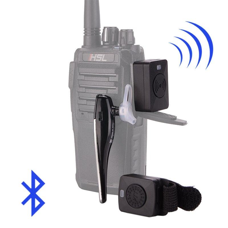 Walkie Talkie Hands-free Bluetooth Headset K/M Type Earphone Handheld Two Way Radio Wireless Headphones For Motorcycle Baofeng
