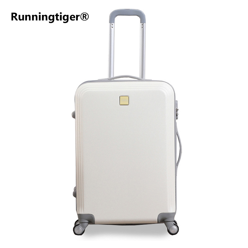 цена на Rolling suitcase rotating wheel 28inch luggage trolley men ABS+ PC travel bag suitcase student password box ladies boarding case