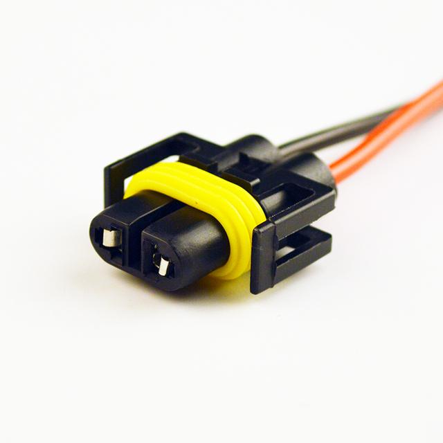 Viecar Ceramic Socket for H1 / H3/H4 /H7 /H8/H11/HB3 9005/HB4 9006/BA15S/BAU15S/T10/T20 LEDBulb  Connector of Car Lamp Cable