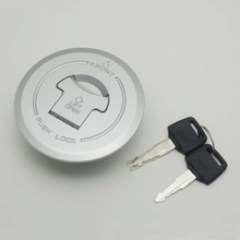 For Honda CBR250R Fuel gas tank Cap cover lock key silver For Honda CBR 250R 2010 2011 2012