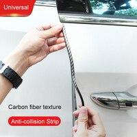 QHCP Car Anti collision Strip For Car Window Door Edge Hook Trunk Strips Trim PVC Soft Protection 1Pcs 10M 15M 20M Car Universal