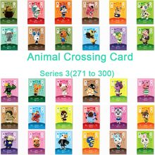 Animal Crossing Card Amiibo Card Work for NS Games Series 3 (271 to 300)(China)