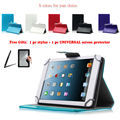 "For Alcatel Pixi 3 10 10.1"" Inch Universal Tablet PU Leather cover case Free Gift"