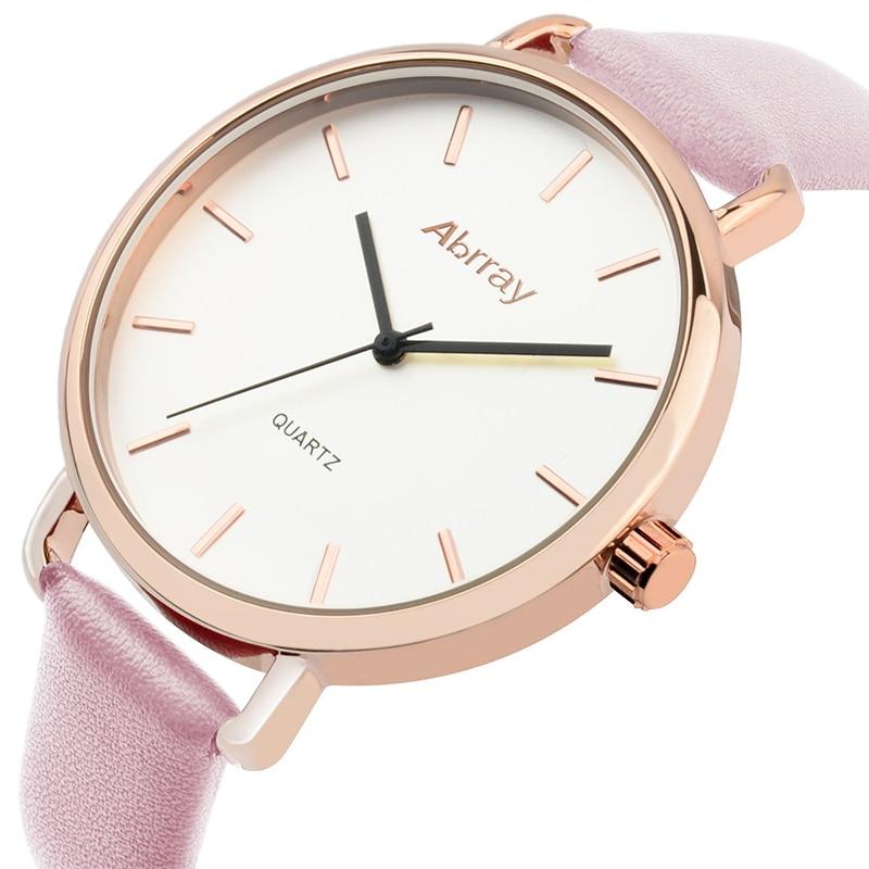 Abrray Fashion Dameshorloge Luxe Merk Lederen Band Horloge - Dameshorloges - Foto 3