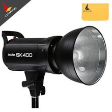 Sk400 godox fotografía 400 w pantalla led flash estroboscópico del estudio de la lámpara principal de iluminación 110 v 5600 k flash de estudio profesional