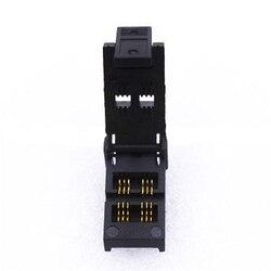 Адаптер для программирования, разъем с зажимом, разъем со сгореванием на гнезде, шаг 0,95 мм, размер корпуса IC, 1,7 мм