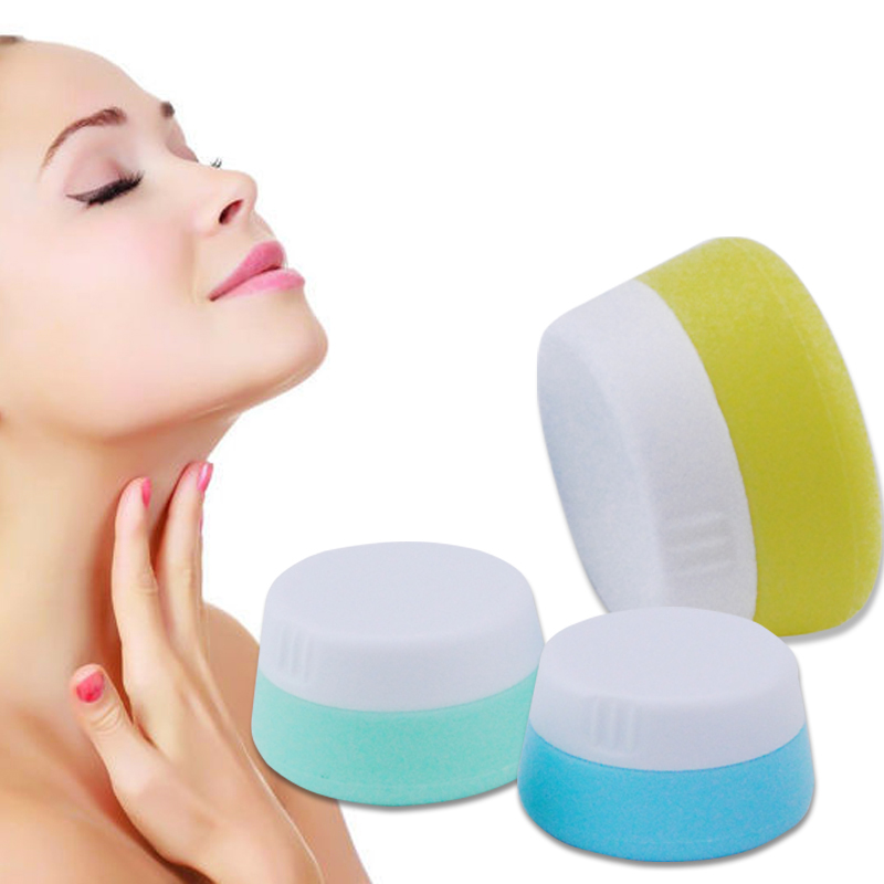 Cream Bottle Refillable Bottles Silicone Container Plastic Empty Makeup Jar Pot Travel Face Cream/Lotion/Cosmetic Container