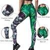Women Skull Print Leggings High Waisted Workout Leggings  4