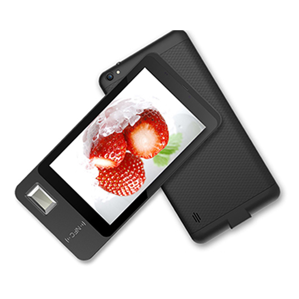 7'' Touch Screen Android 5.1 Portable Tablet India Android Fingerprint Attendance Application NFC Scanner Payroll System