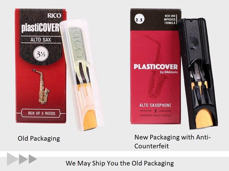 Strength 2.0 5-pack Rico Plasticover Baritone Sax Reeds