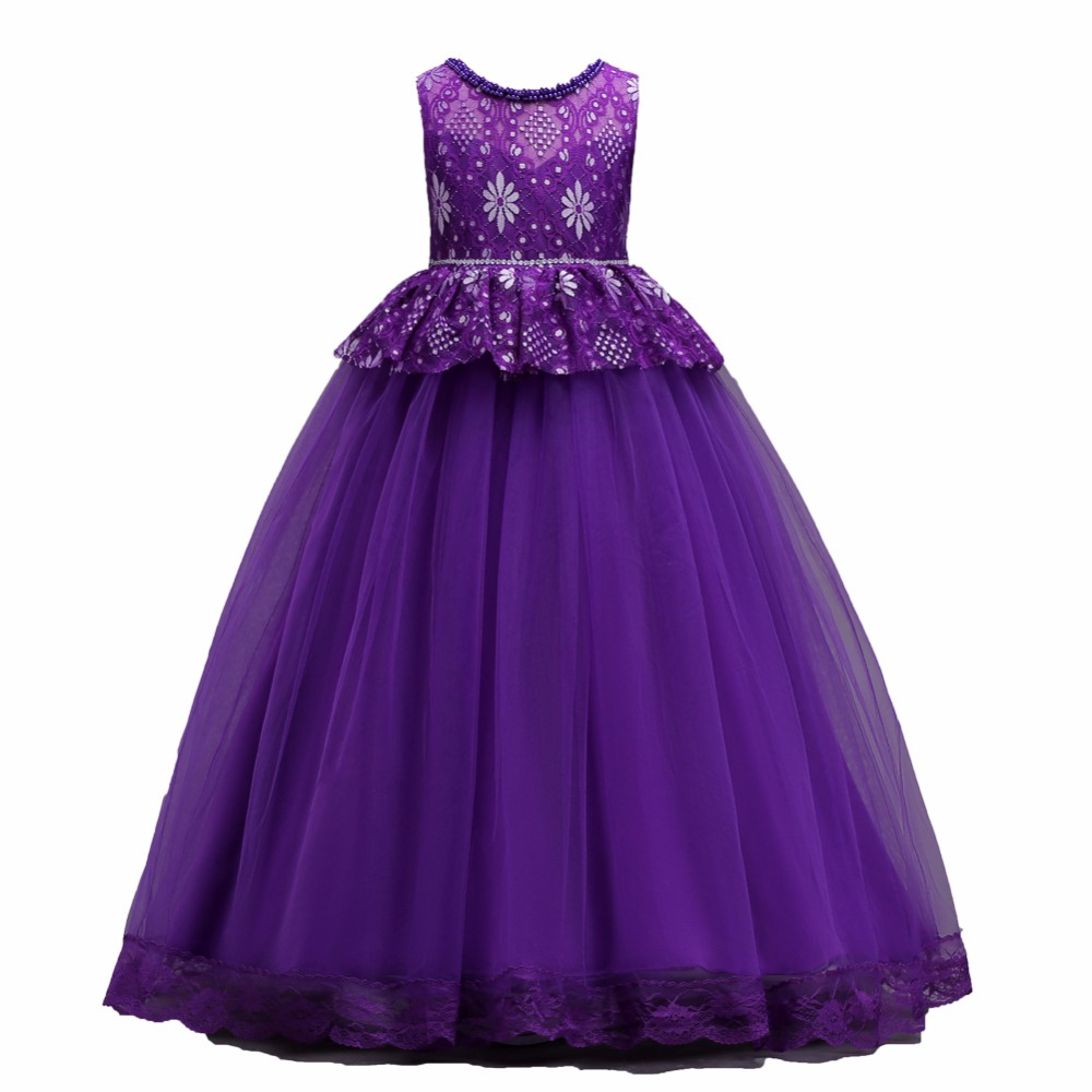 2018 Summer New Kids dress eveving party Princess Costume Infant Clothing Baby girl costume Clothes Birthday Girls Tutu Dresses baby girl dress 2018 new brand princess infant party dresses for girls autumn kids tutu dress baby clothing toddler clothes