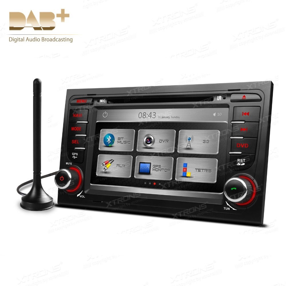 "7"" HD Car DVD GPS Radio Player For Audi A4 2002/2003/2004"