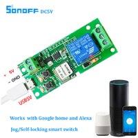 Sonoff Smart WiFi Remote Control DIY Universal Module DC 12V 32V Self locking Wifi Access Control Switch Timer for Smart Home