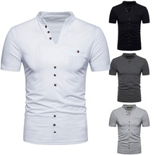 Men's Fashion Short Sleeve T-Shirt Summer T-shirts Mens T Shirt Men's Cotton T-shirt Casual Shirt Pullover Sweatshirt embroidered pullover t shirt
