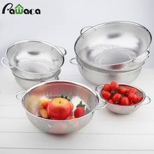 Pawaca Stainless Steel Basket Holder Kitchen Storage