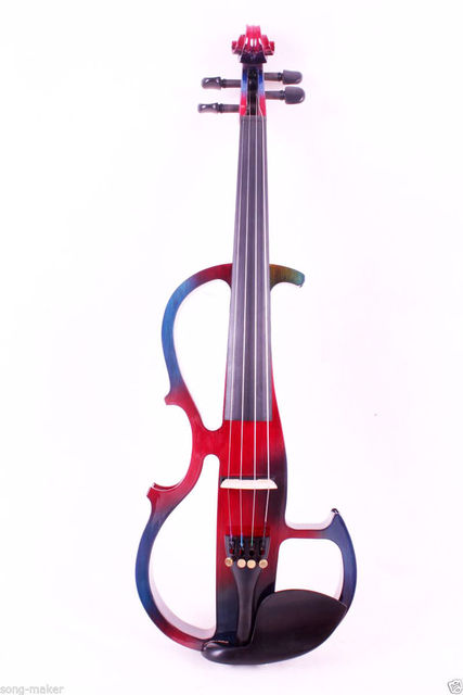 Fishion Electric Violin Left Hand Powerful Sound Reverberation 4/4 Yinfente Profession