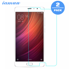 2PCS Tempered Glass Film for Xiaomi Redmi Pro Screen Protector Film Anti-scratch Shatterproof With Clean Tool Easy to Install