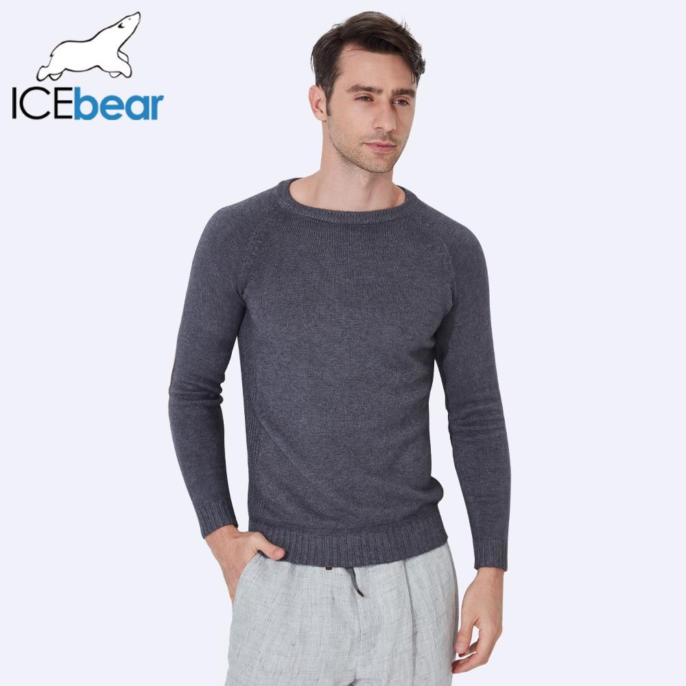 Icebear 2017 nueva Otoño Invierno hombre Suéteres Jerséis punto grueso caliente diseño slim fit casual sweater hombres 607d