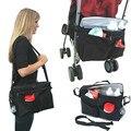 Accesorio cochecito Baby Bag Bolsas de Pañales Organizadores de Aislamiento Taza Cesta Cochecito del Cochecillo Cochecito Carro de Viaje Accesorios