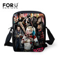 Cool Harley Quinn Suicide Squad School Bags for Girls Funny Joker Children Schoolbag Mini Baby Kids Kindergarten Bookbag Mochila