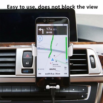Car Phone Holder Universal Air Vent Mount Clip Cell Holder For Phone In Car No Magnetic Mobile Phone Stand Holder Smartphone 1